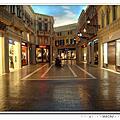 澳門。威尼斯人。大運河購物中心。