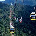 九族文化村搭纜車