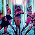 0528 | Nicki Minaj 音樂錄影帶美美截圖