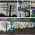 家扶基金會附設大同育幼院-彩繪大同世界活動-幸福藤牆壁彩繪協助