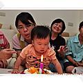 老妹一歲生日