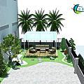 廠區綠化3D
