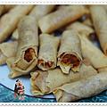 金香蝦米捲