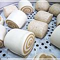 1010905 雙色老麵饅頭&全麥饅頭