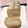 1011023 全麥橄欖油麵包(免揉麵包)
