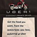 uber eats foods