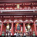 【東京】Day 1-淺草、雷門寺