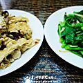 豆皮雞丁香菇四季豆腐煲