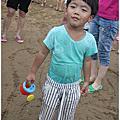 20170529--有夠多人的福隆沙雕玩沙玩水趣!