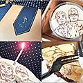 【手繪蛋糕。宅配】藝雀 ArTit 專業乳酪繪畫★客製化/紀念蛋糕/濃郁乳酪