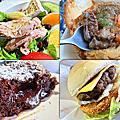【新北。中和】肥禿子美式餐廳 Bald Fatty Bistro★大份量早午餐/四號公園餐廳推薦/中和美式餐廳