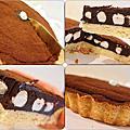 【宅配。甜點】巧克力塔塔家★8吋激厚塔夾心系列/棉花糖夾心/療癒下午茶甜點