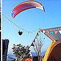 31露。藍天下的飛行傘 - 虎嘯山莊