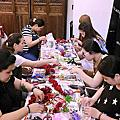 201701 maggie彩妝造型教室新娘捧花與頭飾教學