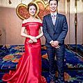 (台北新秘)結婚造型作品,禮服愛情萬歲婚紗