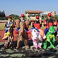 高雄台南屏東遊行恐龍裝騎馬裝騎大象充氣裝出租