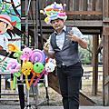 高雄市政府兒福館親子電影院活動主持人+魔術汽球表演