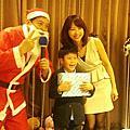 高雄華園飯店聖誕Party主持人+魔術汽球表演+可愛大布偶