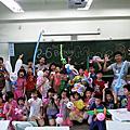 高雄龍華國小生日派對魔術氣球表演+棉花糖DIY+氣球DIY