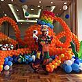 高雄新光三越小丑氣球表演