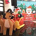 高雄京城鉅誕聖誕背板出租+釣魚攤位出租+棉花糖DIY+小丑氣球表演
