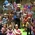 高雄大遠百生日派對魔術氣球表演