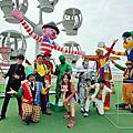 魔術師+小丑+大型充氣遊行小丑+高蹺小丑+行動雕像