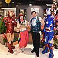 高雄大立精品百貨近距離魔術師+小丑氣球表演+鋼鐵人迎賓