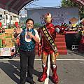 台南安定胡麻季活動主持人+魔術出鴿表演+小丑氣球秀+人入大氣球+拉拉熊人偶+鋼鐵人迎賓+奇幻泡泡表演