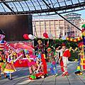 屏東六堆小丑遊行+街頭表演+大型小丑+街頭魔術表演+泡泡表演
