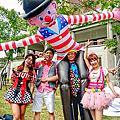 美麗FUN一下活動/唱跳哥哥+唱跳姐姐+魔術表演+充氣大小丑+小丑折氣球-台南市政府前廣場