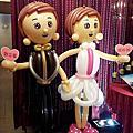 高雄夢時代雅悅會館-婚宴汽球佈置