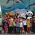 高雄中鋼健行活動主持人+小丑汽球表演+拉拉熊人偶