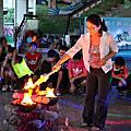 高雄市中洲國小畢業營火晚會主持+燭光晚會
