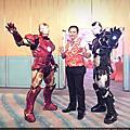 2019經濟部加工出口區勞資政新春主持人+鋼鐵人表演+肚皮舞表演+特技表演