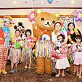 高雄生日抓週派對活動主持+拉拉熊人偶+魔術表演@高雄福華飯店