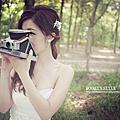 [自助婚紗]骨感森林系/台南zooey側拍照