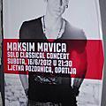 2012.06.16 Maksim Mrvica Solo Classical Concert at Ljetna pozornica, Opatija.