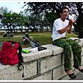 2009-08-13 海濱公園黃記蔥油餅