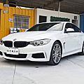 2015年 BMW 428GC 外匯未領牌 白色 M版