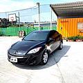 2012 MAZDA 3 四門 1.6 黑色