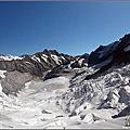 2011瑞士自助行第三天。前進少女峰_登山小火車