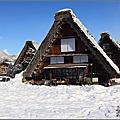 2012日本北陸奈良遊記。第四天【白川鄉合掌村。晴天版】