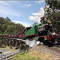 2016澳洲第三天【普芬比利蒸汽火車】