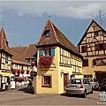 2014法國浪漫之旅第三天【艾吉善Eguisheim美麗的花香小鎮】