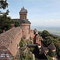 2014法國浪漫之旅第四天【歐根尼斯堡Château du Haut-Kœnigsbourg】