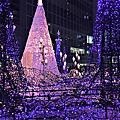 2017人妻自行去日本放風~Ginza Six、汐留聖誕節點燈