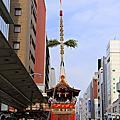 祇園祭曳き初め