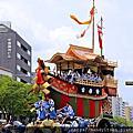 祇園祭之山鉾巡行