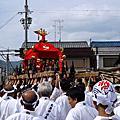 神幸祭。木嶋神社